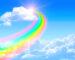 Beautiful,Bright,Rainbow,In,The,Blue,Sky
